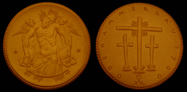 1930 German - Oberammergau / Commemorative Medal